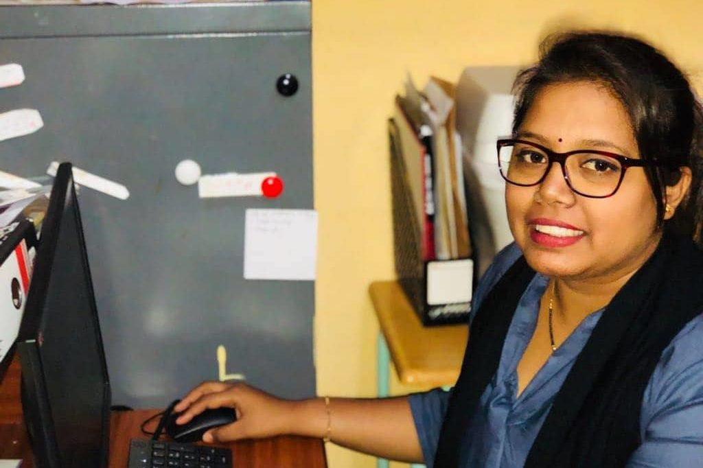 Secretary: Mrs. P. Pooja Momine