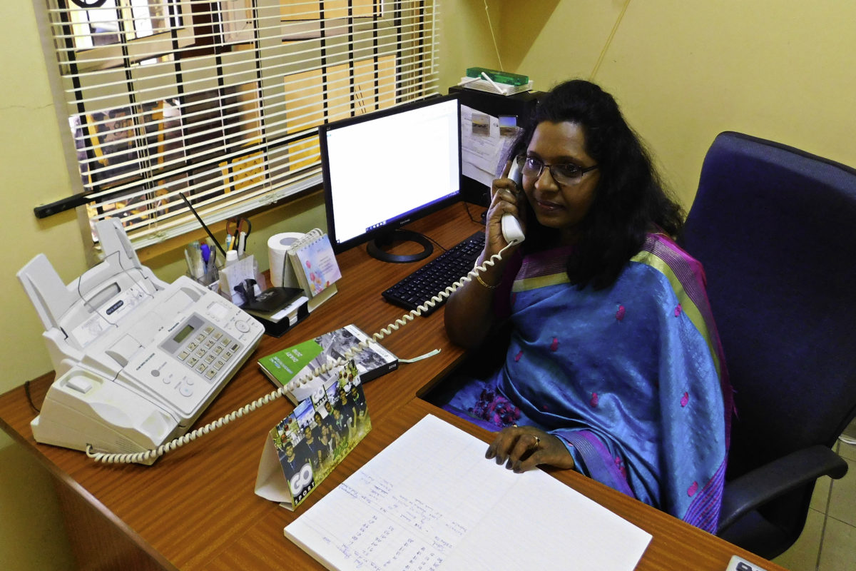 Director Mrs Patchemah Ullagen